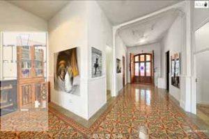 Visita virtual 360 de la exposición de Ofill Echevarría en Acuda Gallery, Godella (Valencia)
