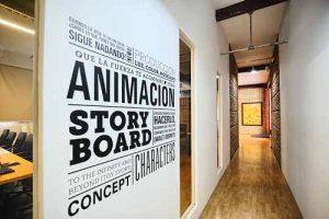 Visita virtual Google Street View de la Escuela oficial de arte Barreira, en Valencia. España