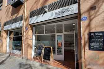 Visita virtual Google Street View del restaurante 14 Mariposas, en Valencia.