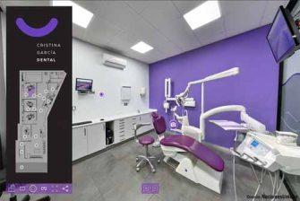 Realidad Virtual 360 de reforma en Clínica Dental