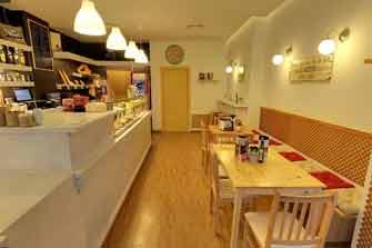 Visita virtual Google Street View de la cafetería Cor de Pa, en Valencia.