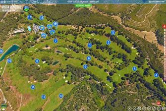 Visitar virtual a medida del Campo de Golf Costa Daurada de Tarragona, España. Realizada por Panoramics360.com