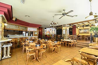 Tour vurtual Google Street View realizado por panoramics360.com de Cafetería el Divan, en Catarroja, Valencia