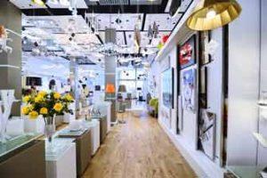 Visita virtual de Google de la tienda de iluminación y decoración AZABAK