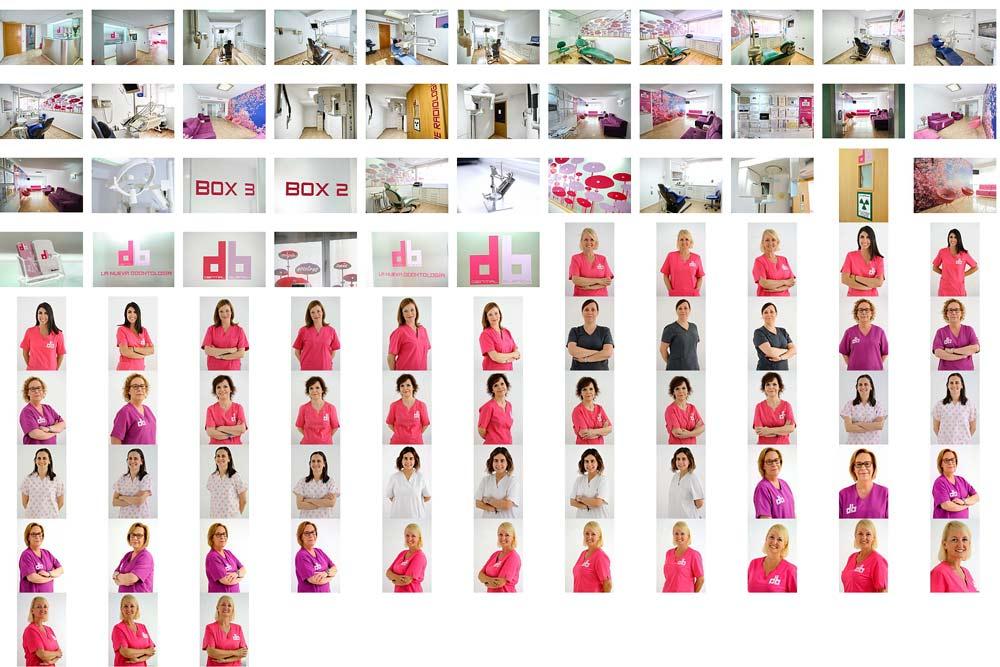 Fotografía de clínicas dentales y personal. Visita Virtual Google en Clínicas.
