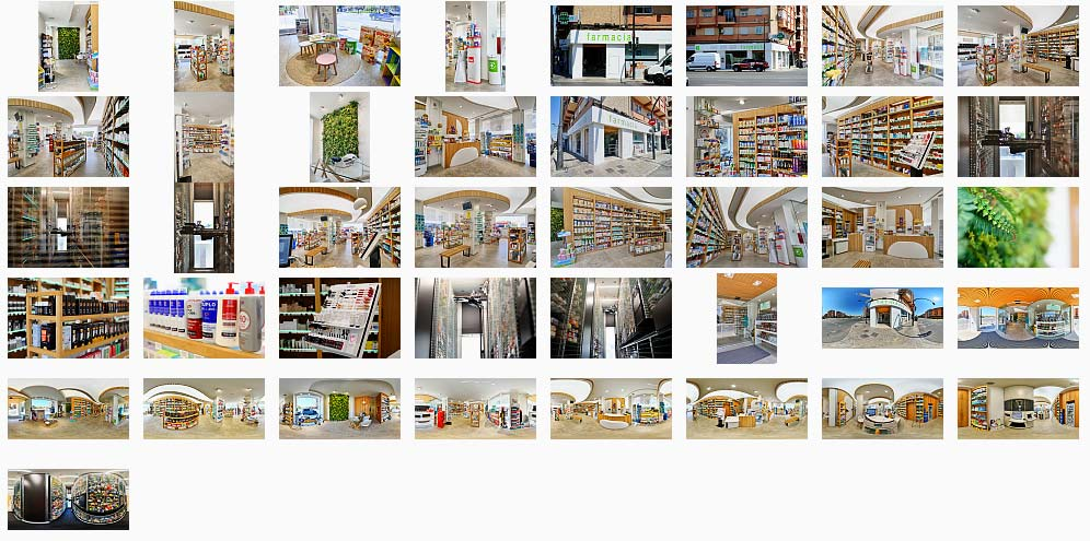 Visita Virtual Google Street View de Farmacias en Valencia