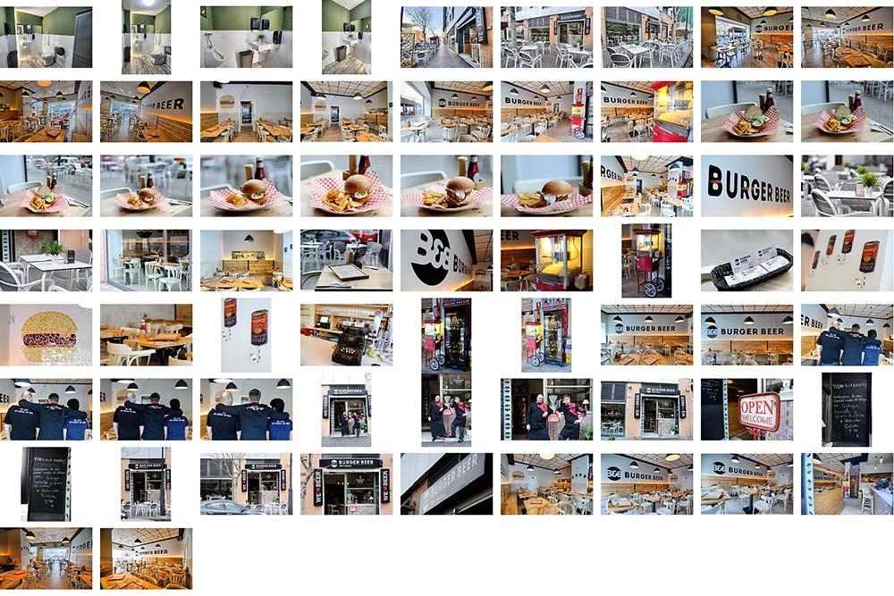 Fotógrafo 360 de Google en Burger Beer. Valencia