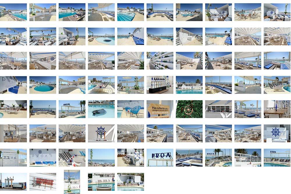 Fotografia 360 para restaurantes en Valencia