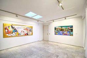 Tour virtual 360 realizado en Galería Ana Serratosa