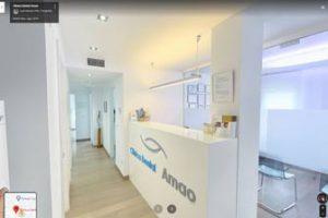 recorrido 360 de Google de la clínica dental Arnao