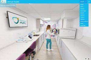 visita virtual 360 para clínicas dentales