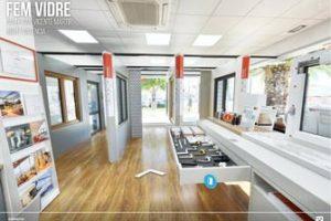 recorrido 360 de empresa instaladora de ventanas