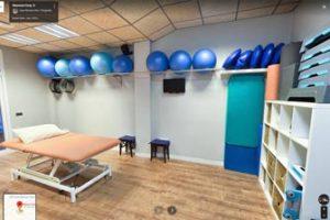 recorrido 360 Google Street View de clínica Neurocen, en Valencia