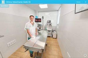 Tour virtuales para clínicas veterinarias