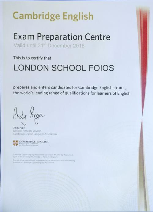 london school foios 16